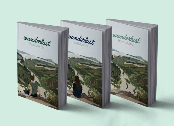 Travel diary | Wanderlust | A5 | 100 pages | To register