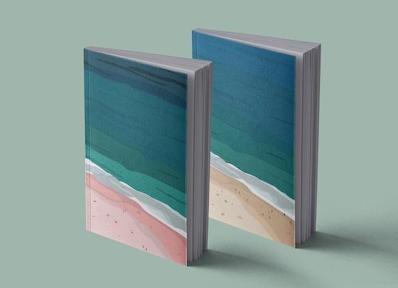 Notebook Pink Beach | Sand Beach | 13 x 20 cm