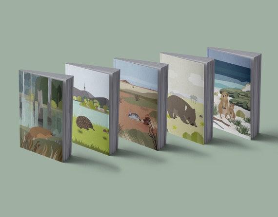 Notebook | Australian animals | loving illustrations | 13 x 20 cm