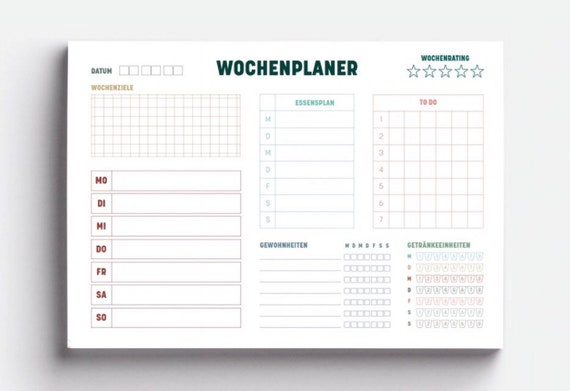 Weekly Planner, Minimalism Edition, A5