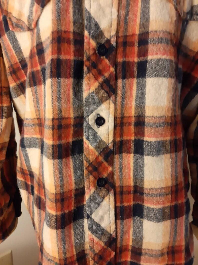 Vintage Plaid Button Up
