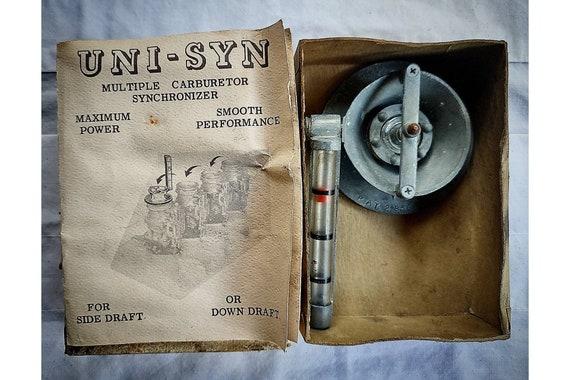Vintage Uni-Syn ModeL A MuLtiple Carburetor Synchronizer BaLancer