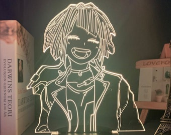 Anime Led Lights My Hero Academia Night Light Personalized Gift Home Decor Desk Lamp Room Decor Birthday Gifts Gift For HimKyouka Jirou