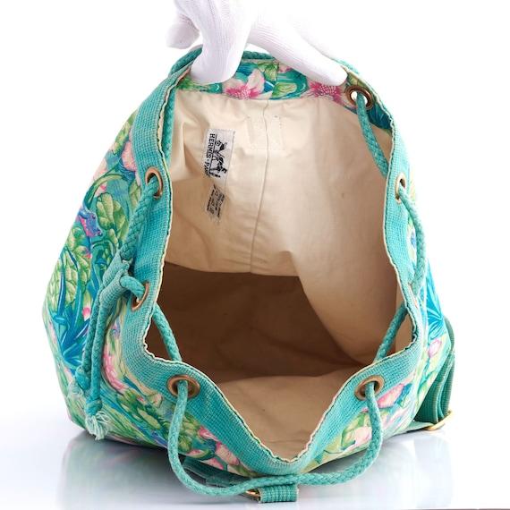 Authentic HERMES Vintage Bucket Bag, Hermes Frog … - image 9