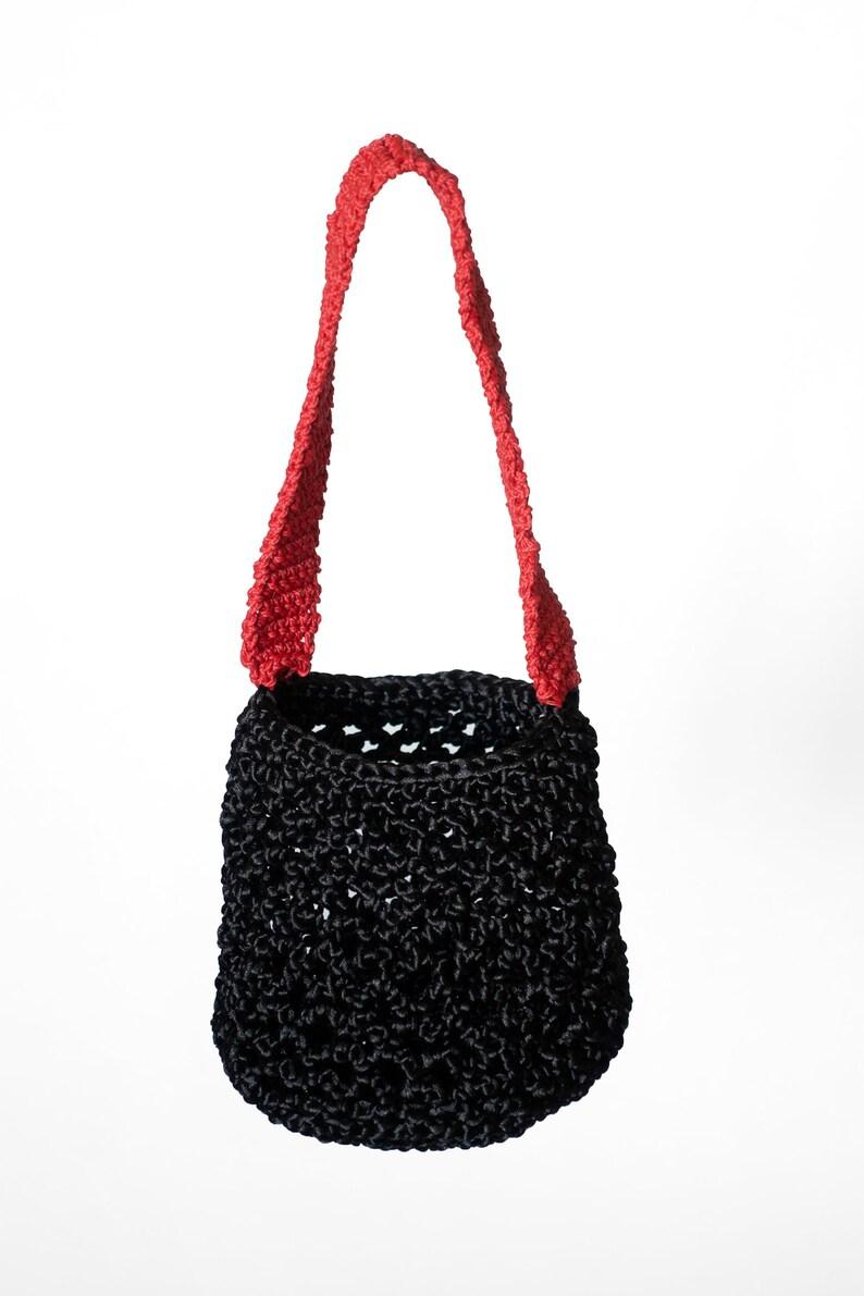 Fun Elegant Evening Bag Party Bag Crochet Bag made from image 0