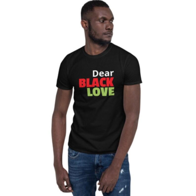 Dear Black Love Podcast Unisex Tshirts image 0