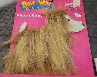 Westcliff Ltd Tan Puppy Dog in Red Sweater