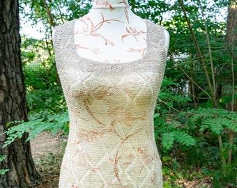 Dress in nettle fibre