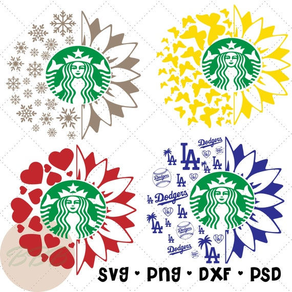 Download Sunflower Starbucks Cup decal venti Cold drink Cup svg and ...