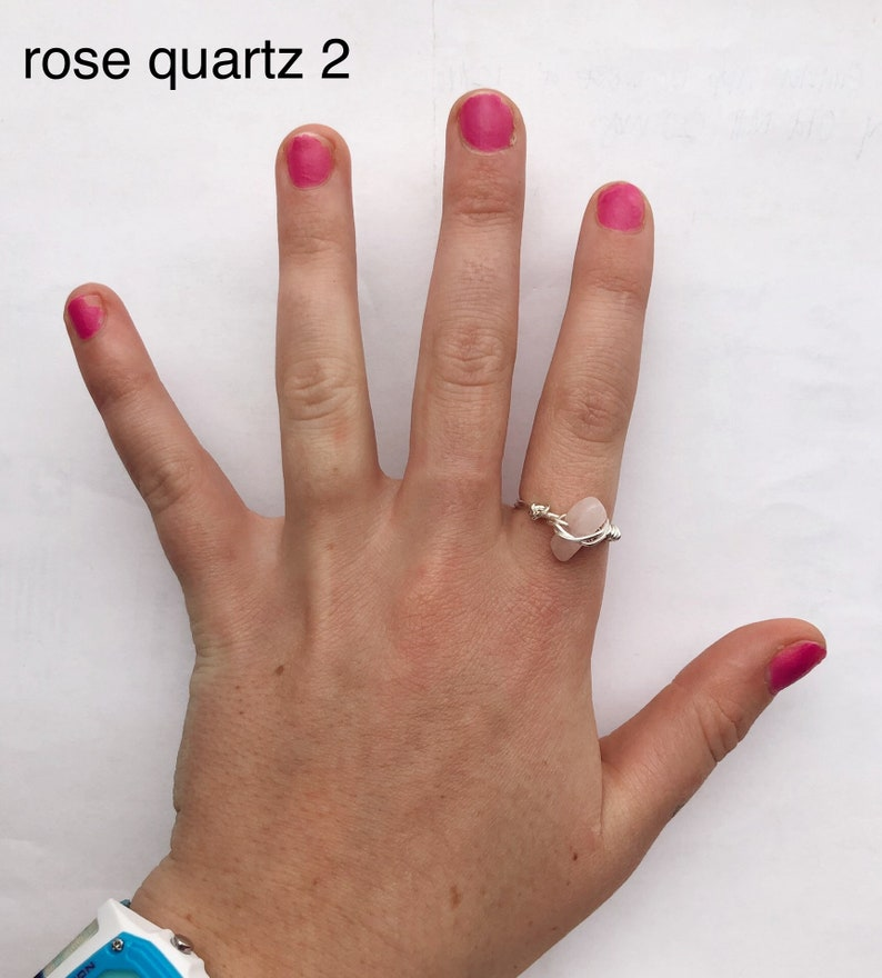 crystal ring size 6.5