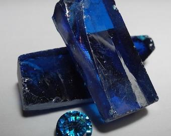 Swiss Blue Synthetic Cubic Zirconia  - Cubic Zirconia