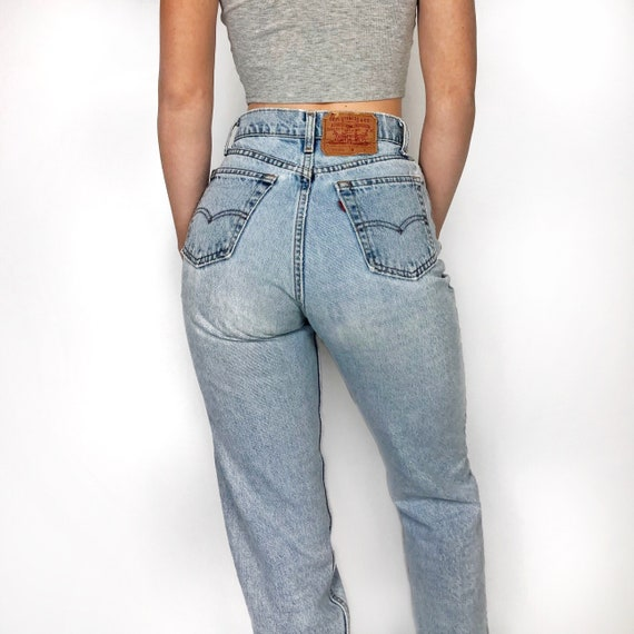 """Vintage Levi's 560 jeans size 25"""" // high waisted"""