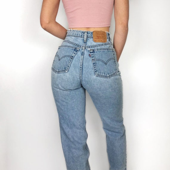 """Vintage Levi's 512 jeans size 27"""" // high waisted"""