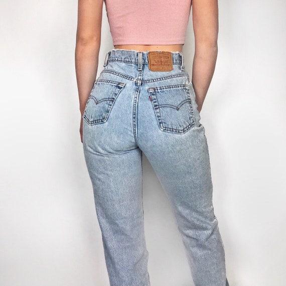 """Vintage Levi's 525 jeans size 26""""-27"""" // high wais"""