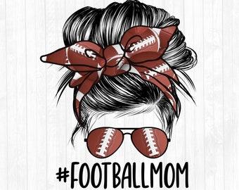 football mom svg