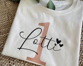 Birthday T-Shirt | Year| Children's shirt| Statement T-Shirt Toddlers | Children| T-Shirt | Personalized