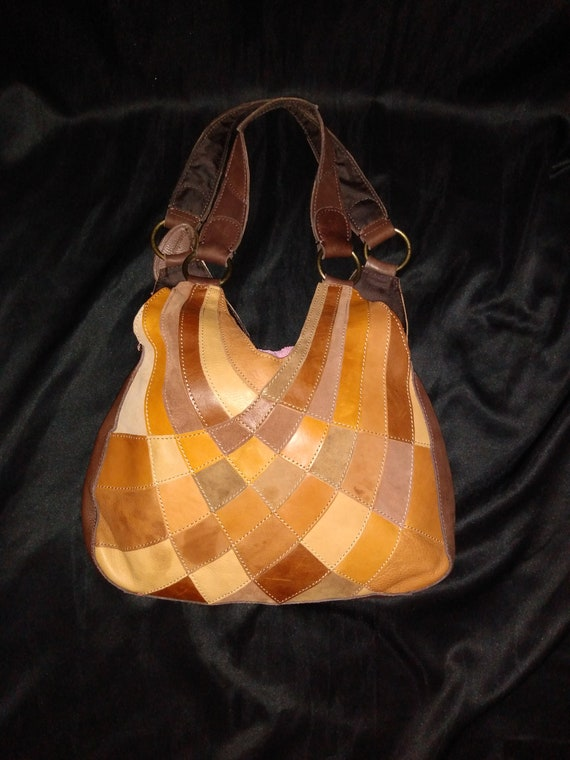 Vintage Pelle Studio leather handbag