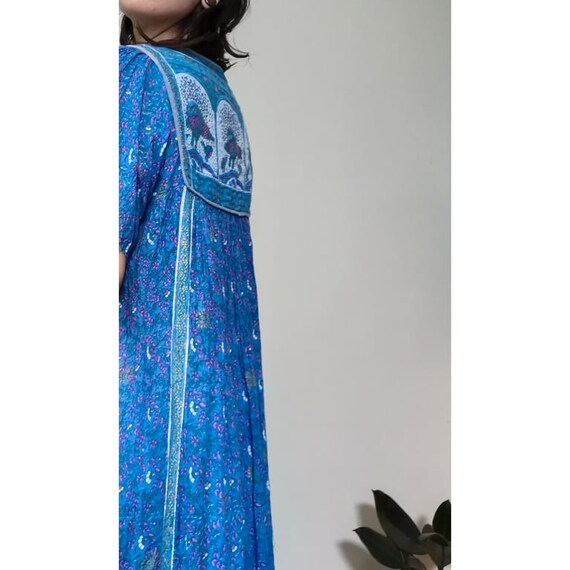 Indian Cotton Boho Dress