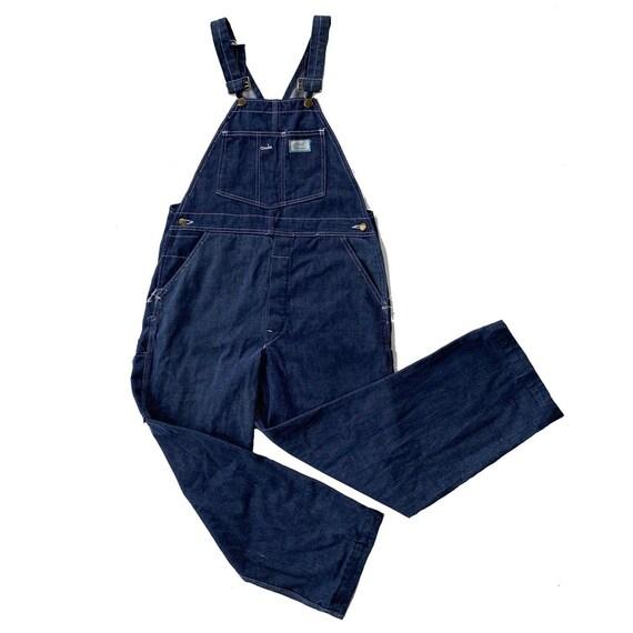 VTG 70s 80s USA Union Made Sears Tradewear Denim O