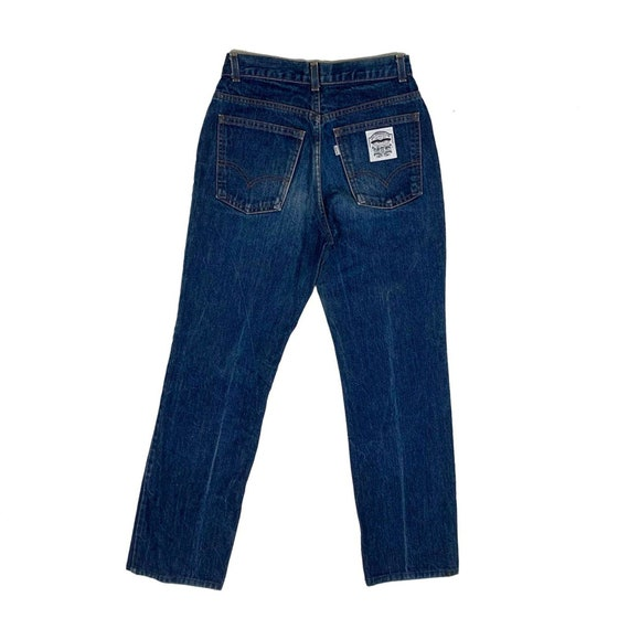 VTG 80s Levis Jeans High Waist White Patch Denim W