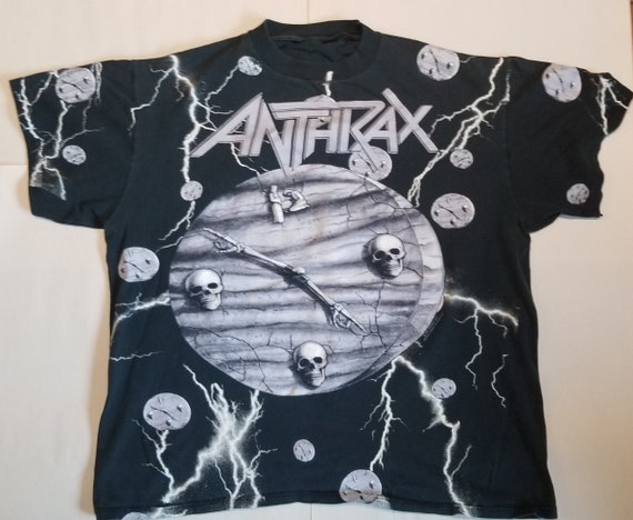 Vintage Anthrax Persistence of Time Concert Tshirt