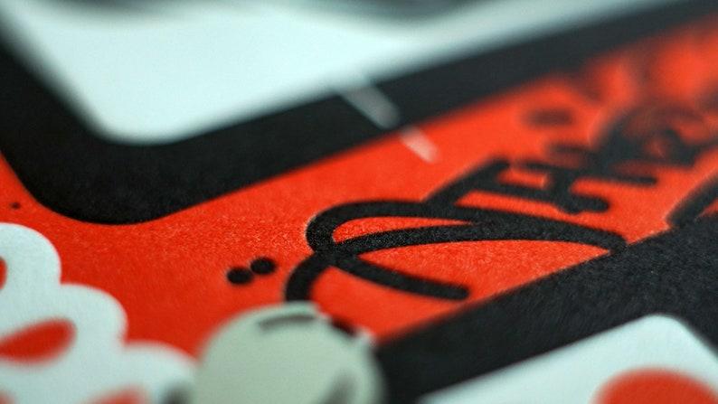 \u0397.\u03a3.\u0391.\u03a0 Letterpress Artprint