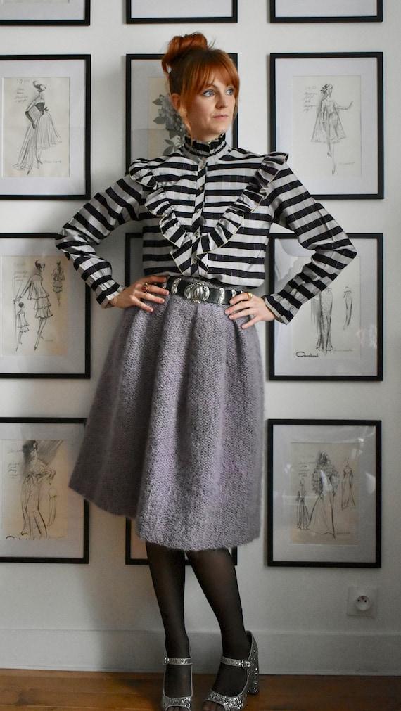 Lovely Lavender Vintage Circle Skirt