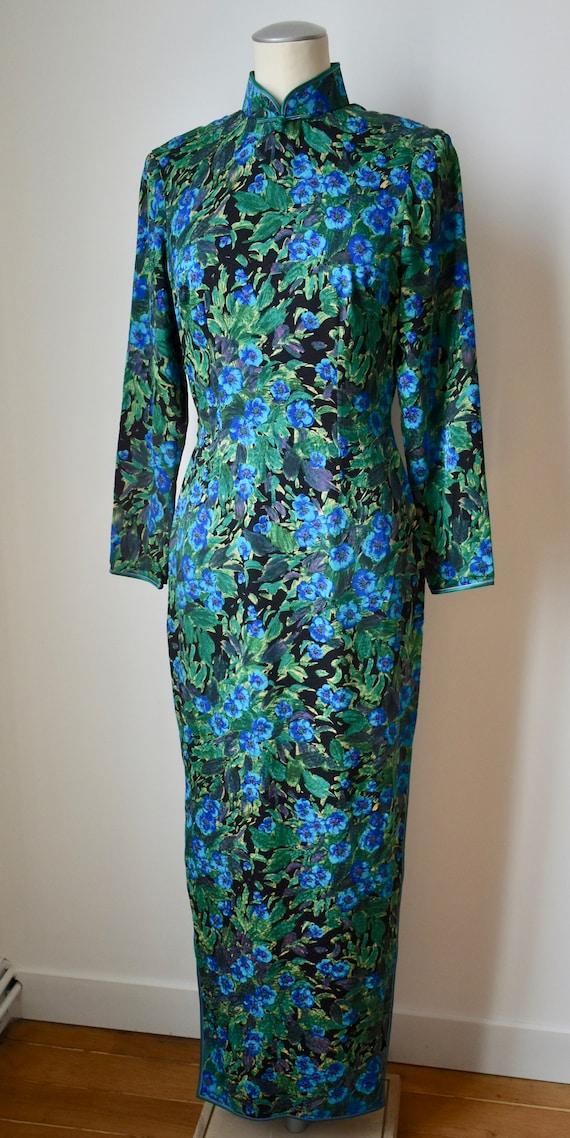 Amazing Vintage 60s Chinoiserie Dress