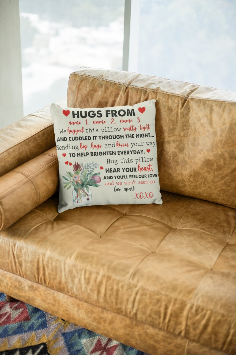 Grandparent pillow Decor pillow Home decor Nana pillow Housewarming gift Personalized pillow case Custom name pillow cover