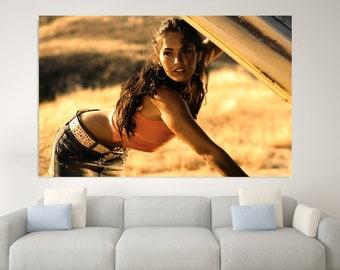 Poster Megan Fox Movie Star Room Club Art Wall Cloth Print 220