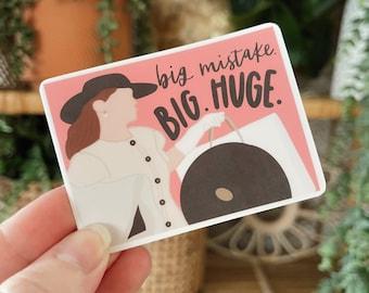 Pretty Woman Sticker // Rom Com Sticker // Romantic Comedy Sticker // Big Mistake Sticker