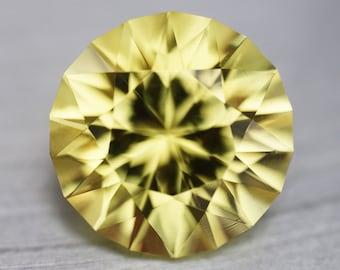 Yellow Sapphire Lab Created - 3.75CT