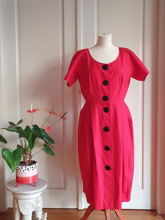 Vintage designer Guy Laroche dress