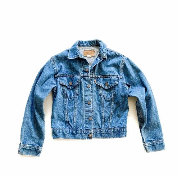 Vintage Orange Tab Levi's Jean Jacket