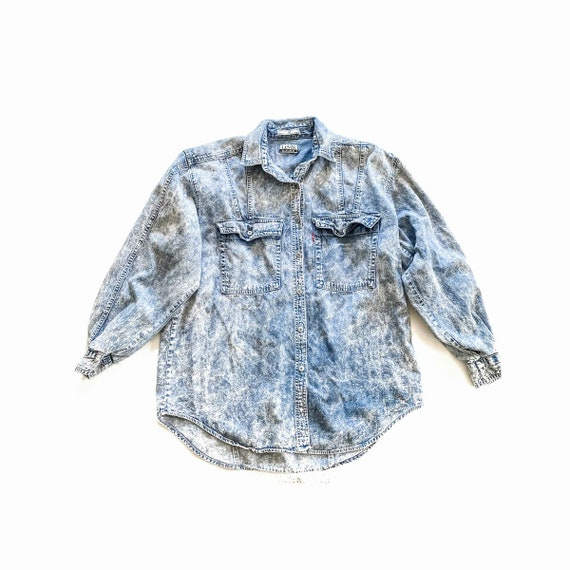 Vintage Levi's Acid Wash Long Sleeve