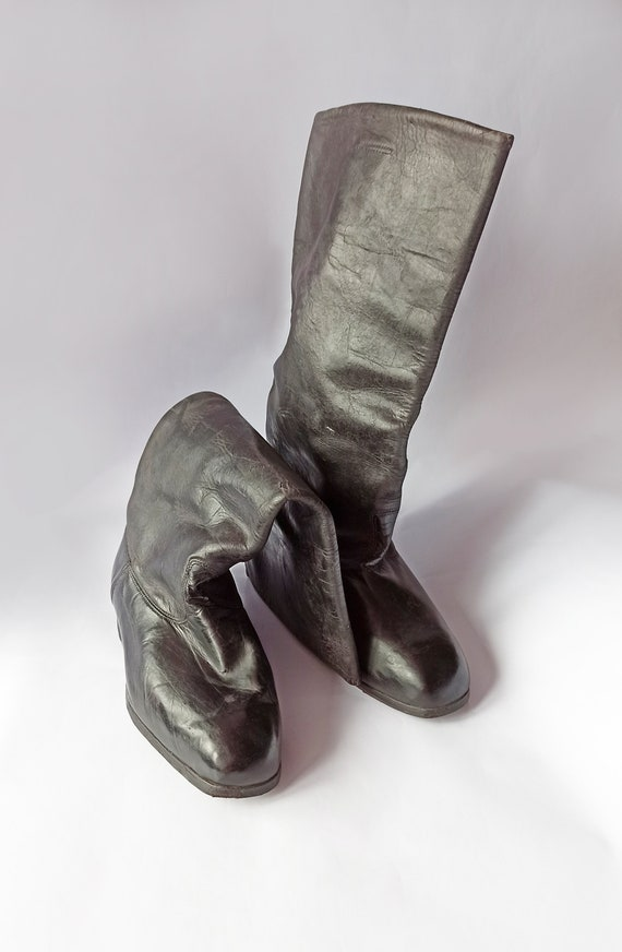 High chrome leather Boots - image 7