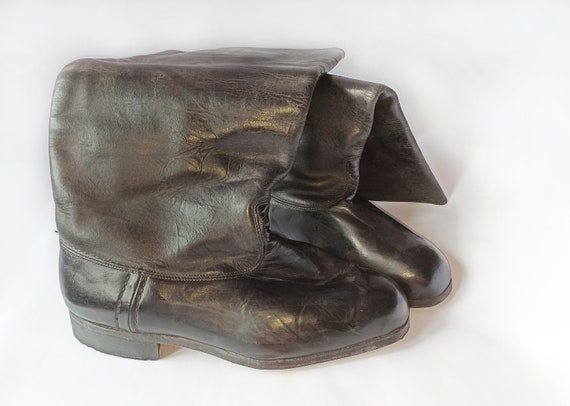 High chrome leather Boots - image 8