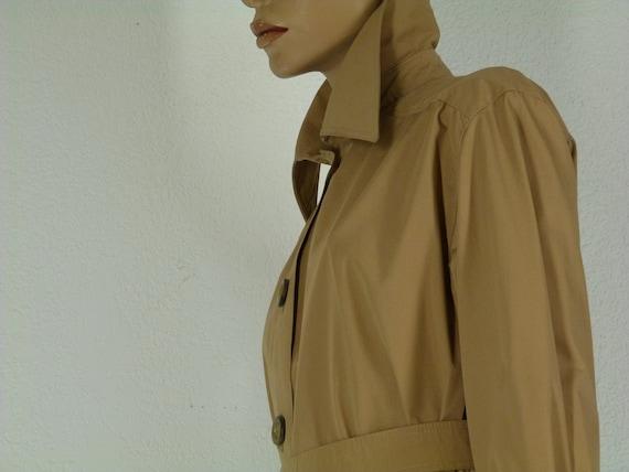 vintage real vintage raincoat 70s