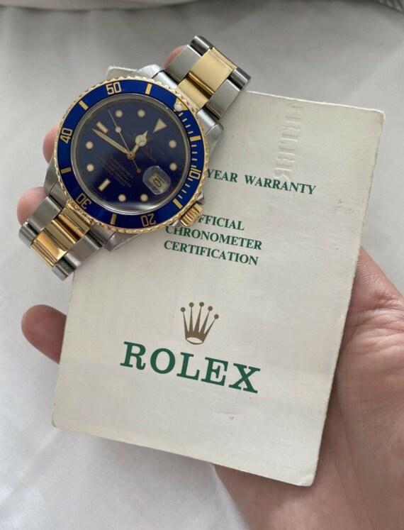 Rolex Submariner 16830 Box & Papers