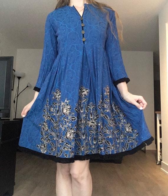 The Royal Blue Dress
