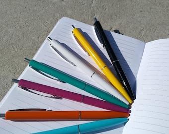 Ballpoint pen original SCHNEIDER Germany Different colors green, blue, black, white, yellow