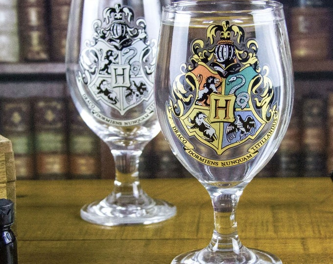 Hogwarts Colour Change Water Glass