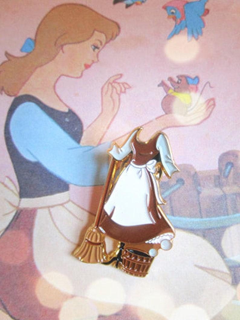 Cinderella Dress Pin