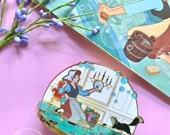 Diorama fantasy pin