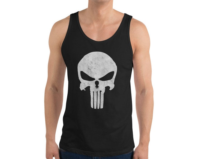 Featured listing image: T.U.G.S. Punisher Unisex Tank Top