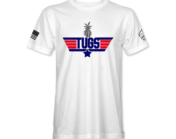 Featured listing image: TUGS Top Gun T-shirt