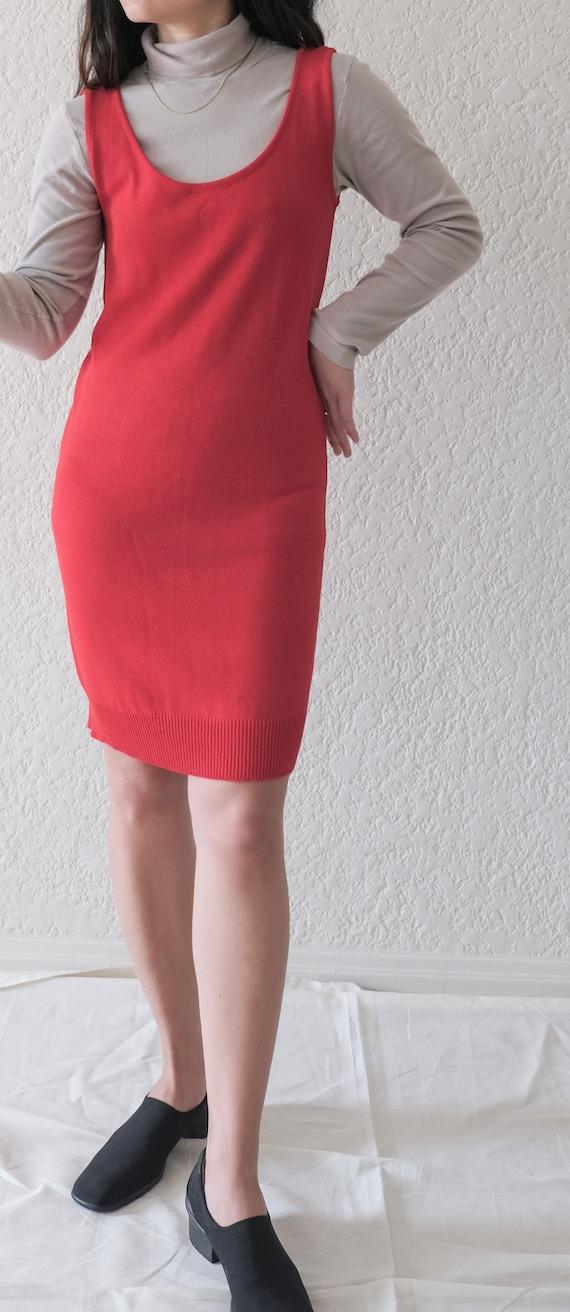 Vintage Donna Karen Tank Dress  / minimal vintage