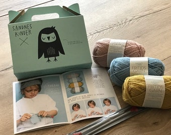 Knit Kit For Kids - Knit Kit For Kids | SandnesYarn