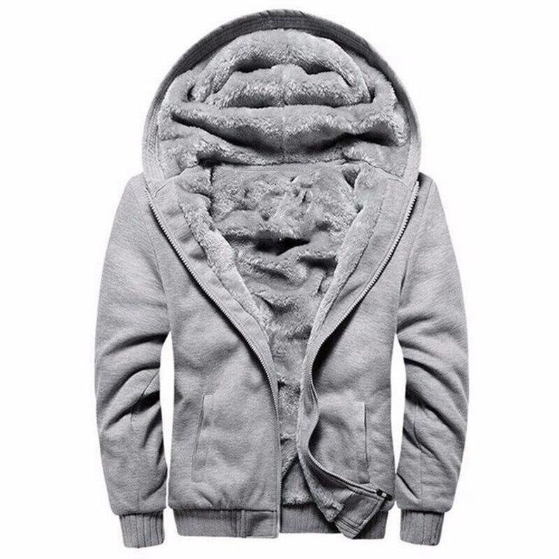 Hoodie  Long Sleeve Zipper Autumn Jacket Sweatshirt
