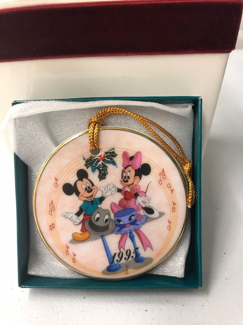 Limited to 25,000 1995 Mickey and Minnie Disney/'s Christmas Collection Walt Disney Theme Parks and Resorts